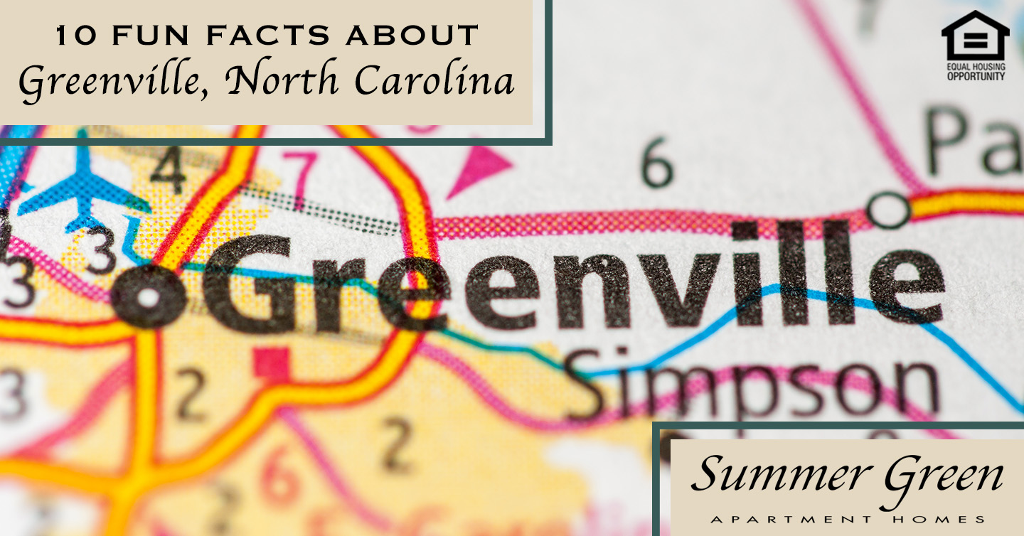 facts about living in Greenville, North Carolina