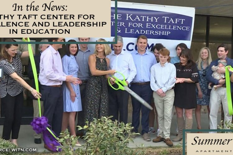 In the News: Kathy Taft Center for Excellence and Leadership in Education