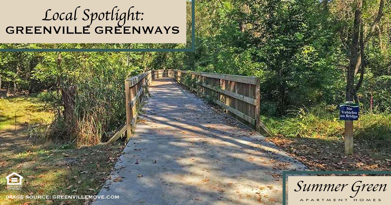 Local Spotlight: Greenville Greenways