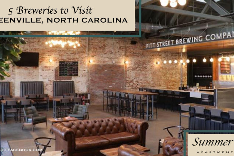 5 Breweries to Visit in Greenville, North Carolina