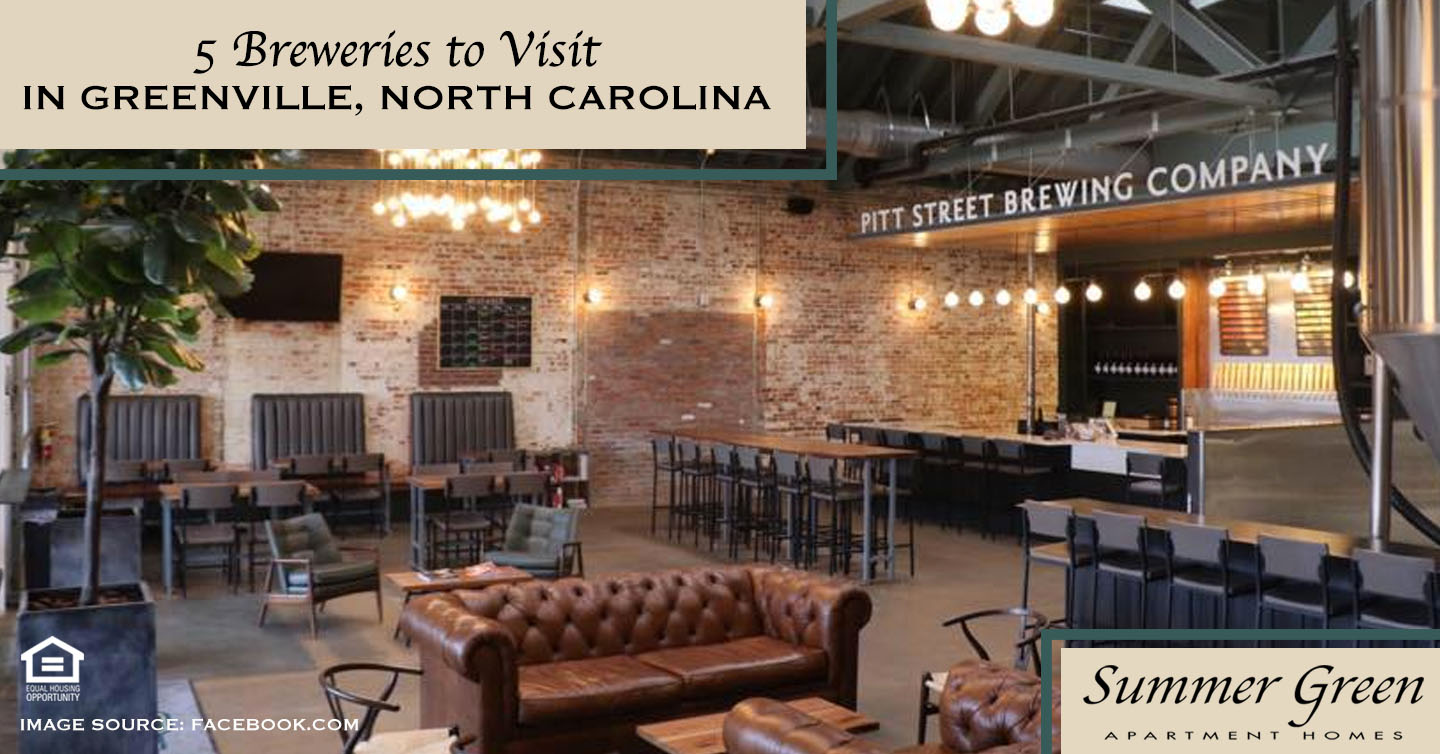 Breweries to Visit in Greenville, North Carolina