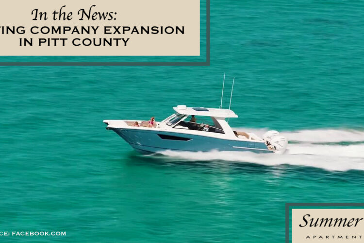 In the News: Boating Company Expansion in Pitt County