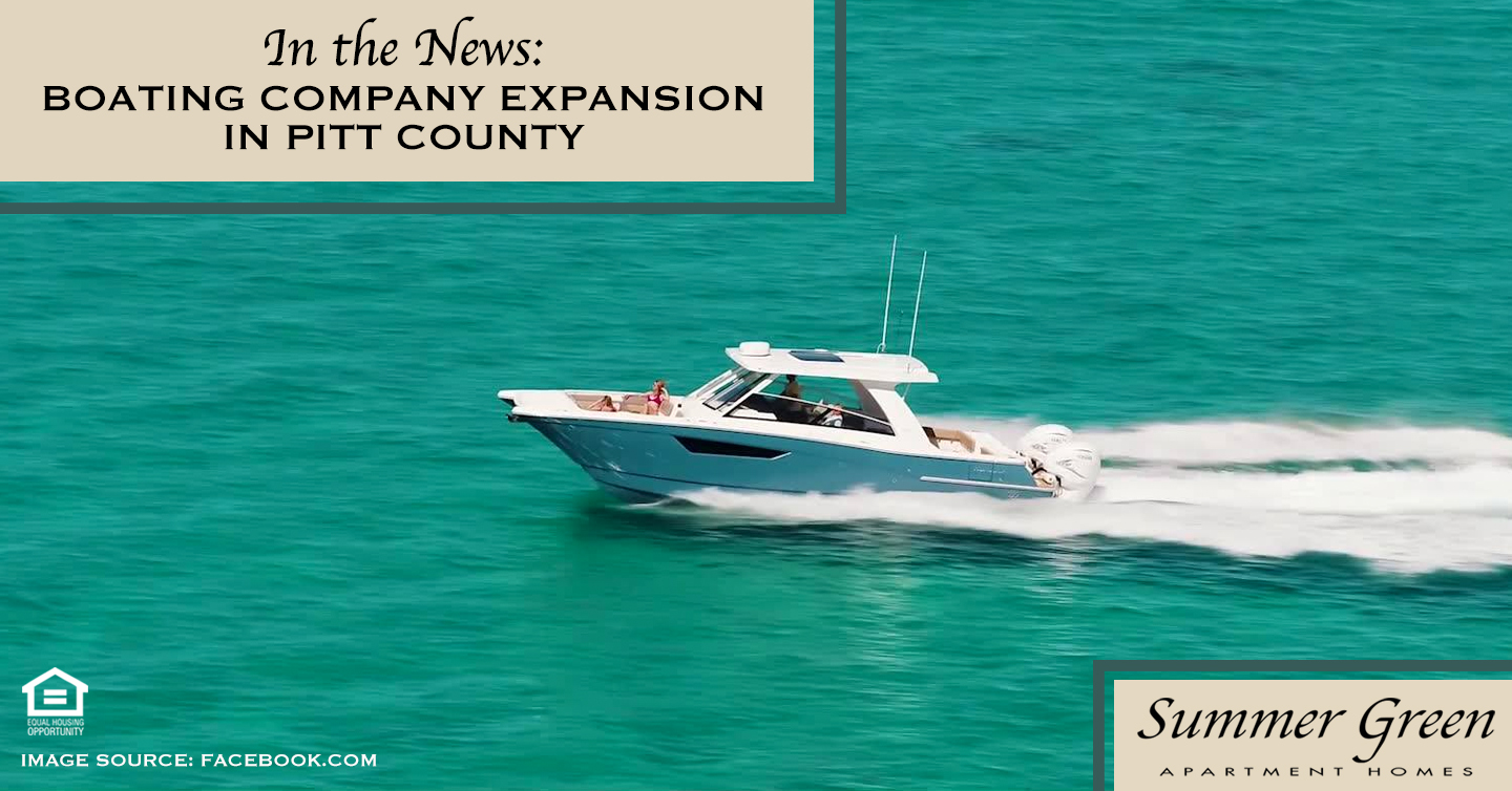 Boating Company Expansion in Pitt County