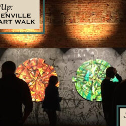 Uptown Greenville First Friday Art Walk
