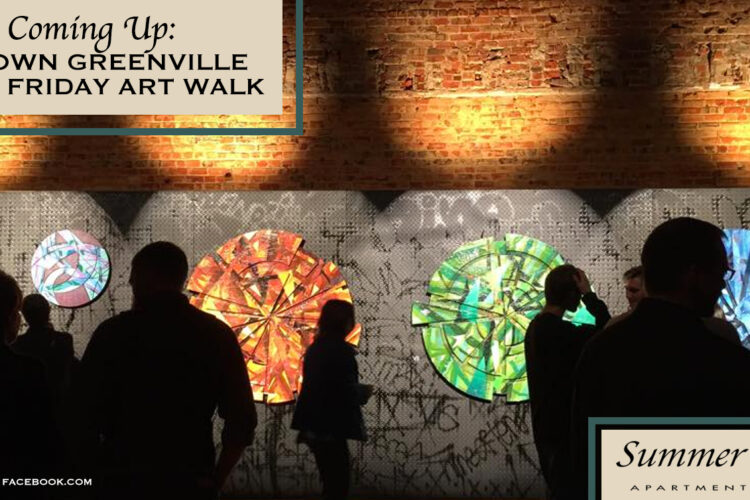 Coming Up: Uptown Greenville First Friday Art Walk