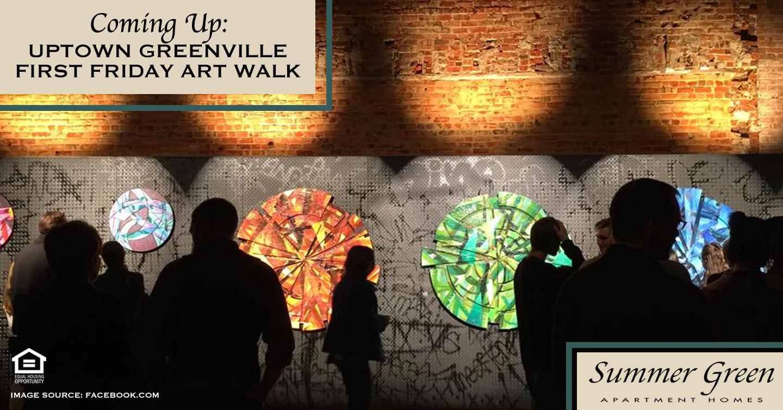 Coming Up: Uptown Greenville First Friday Art Walk