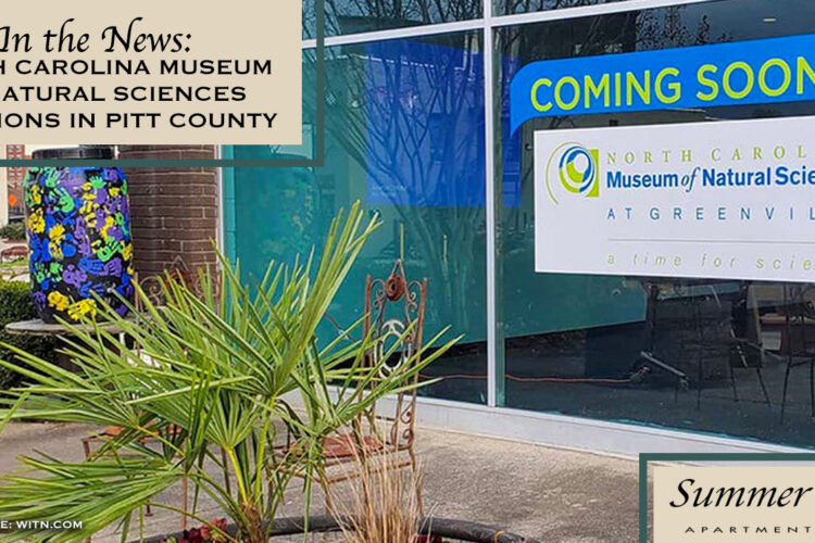 In the News: North Carolina Museum of Natural Sciences Locations in Pitt County
