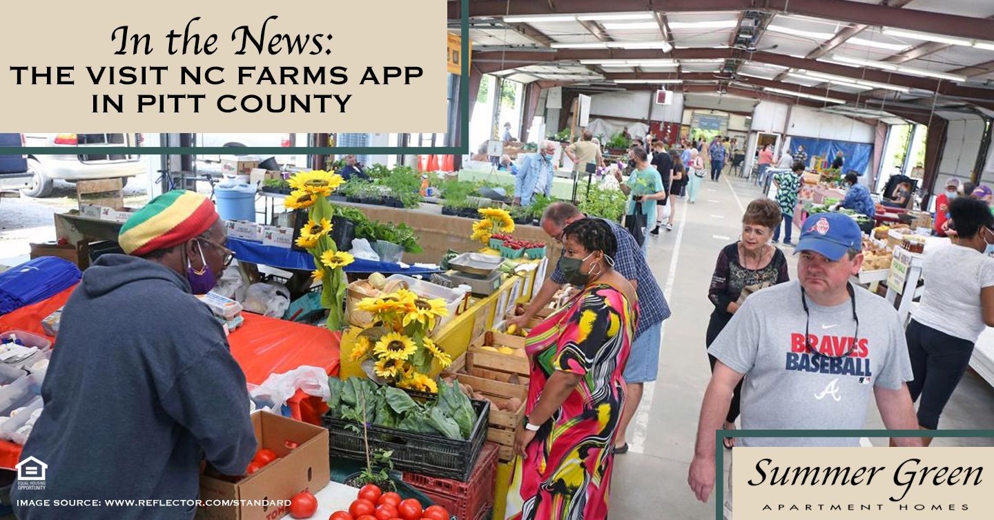 In the News: The Visit NC Farms App in Pitt County